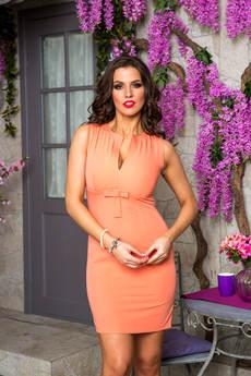 Платье с красивым декольте Angela Ricci со скидкой