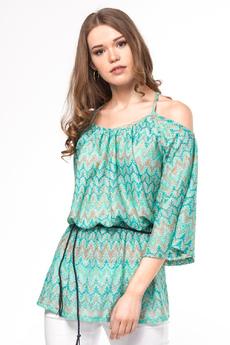 Блузка с открытыми плечами Vilatte