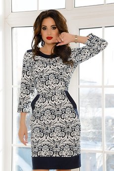 Теплое платье с карманами Open-Style