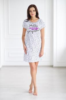 Домашнее платье-футболка Шарлиз