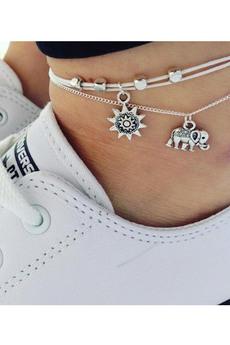 Набор браслетов на ногу (2 шт.) Kokette